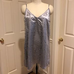 NWT Pearl Lavender Slip Dress